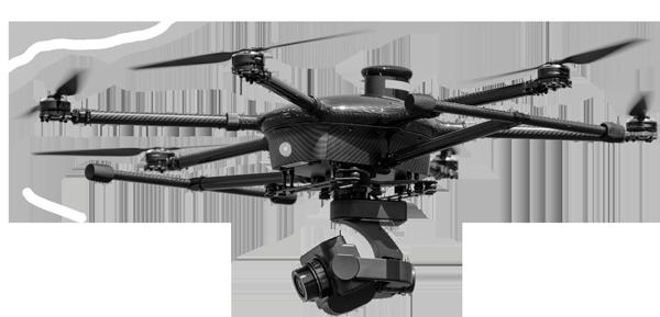 Filmowanie imprez dronem