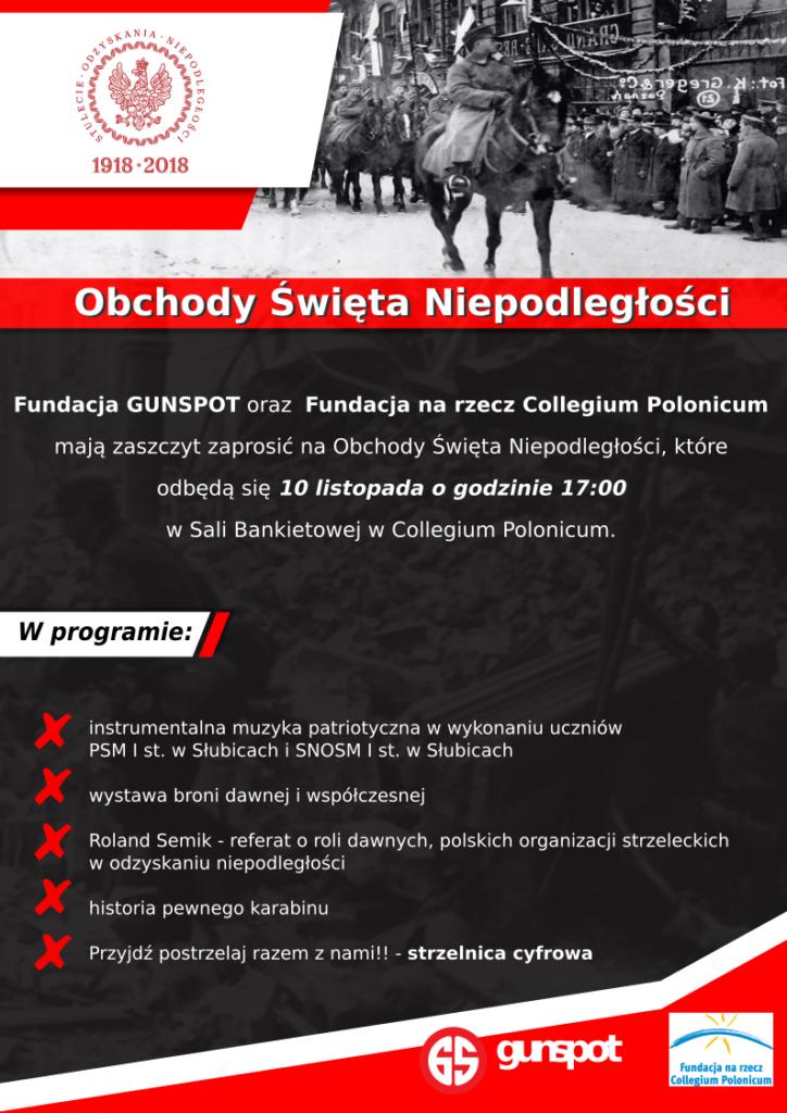 Obchody Święta Niepodległości z Gunspot.pl w Słubicach