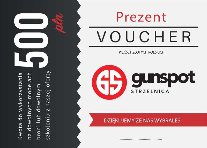 GunSpot Voucher 500
